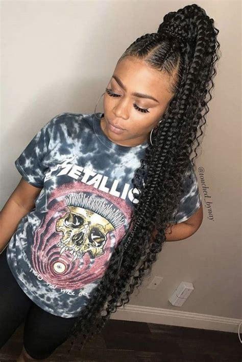 hairstyles  black women   weave ponytail
