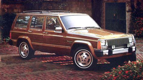 jeep wagoneer 1990 jeep 174 heritage 1984 1990 jeep wagoneer limited xj