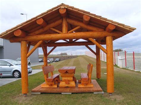 pavillon naturstamm sruby bohemia kleinere blockgeb 228 ude