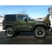 2013 Jeep Wrangler With 33 General Tires 25 Lift