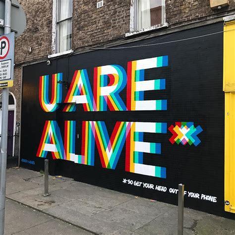 aches   creative explosion  irish graffiti art
