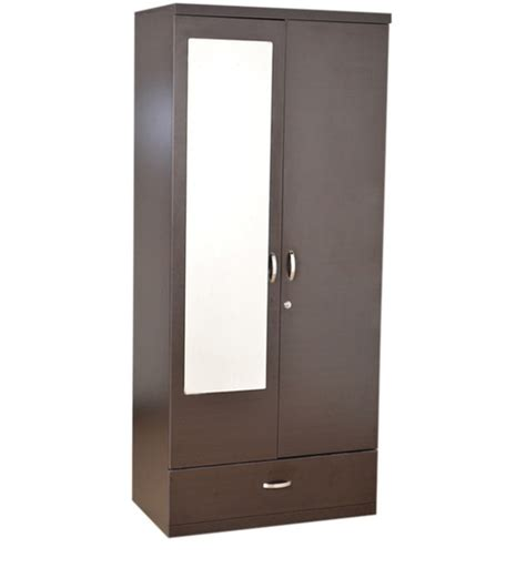 buy utsav two door wardrobe with mirror by hometown