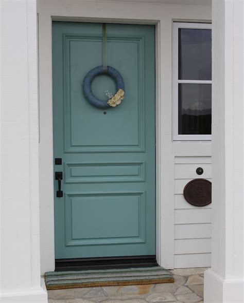 Accent Door Colors | sherwin williams quot drizzle quot shut the front door