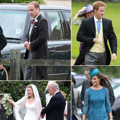 Hochzeit Prinz Harry by Prince William And Prince Harry At A Wedding In Gayton