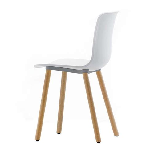 stuhl wooden hal wood chair vitra ambientedirect