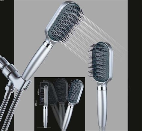 Should I Brush Hair In The Shower by Sigex Limited Cyclone Spa Mineral Shower
