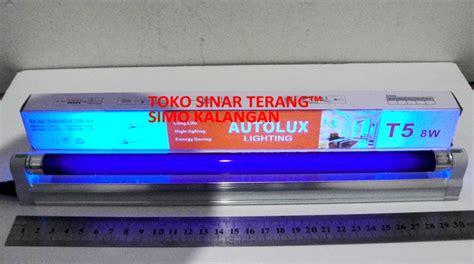 Lu Detektor Uang Palsu Uv T5 8w Jual Lu Tester Uv Uang Palsu Tl T5 Autolux 8w Neon