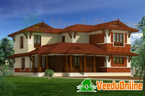 design of kerala style home kerala traditional style house design 2190 sq ft