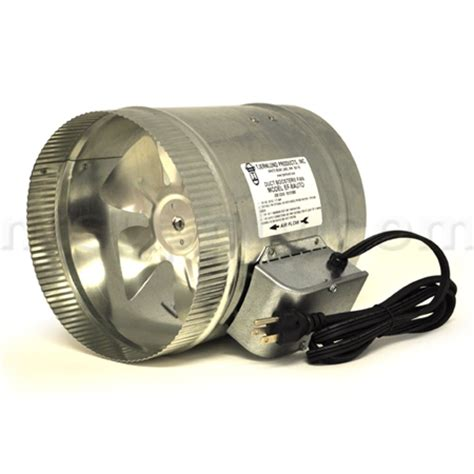 Buy Tjernlund Automatic 8 Quot Duct Booster Fan With Cord Ef