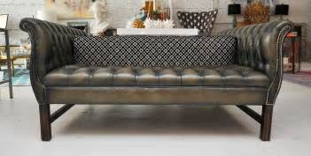 Two Sided Sofa Sided Chesterfield Sofa At 1stdibs