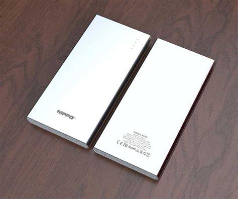Powerbank 10 000 Mah Kuat Merk Hippo infomercial hippo zippy powerbank berkapasitas besar dengan material metal indomiliter
