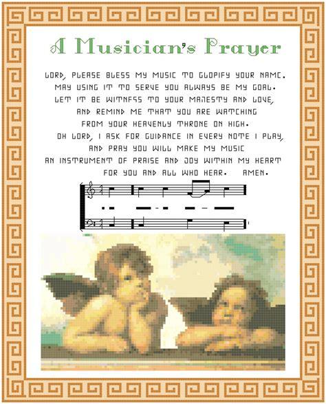 kingdom pattern for prayer a musician s prayer pattern chart graph