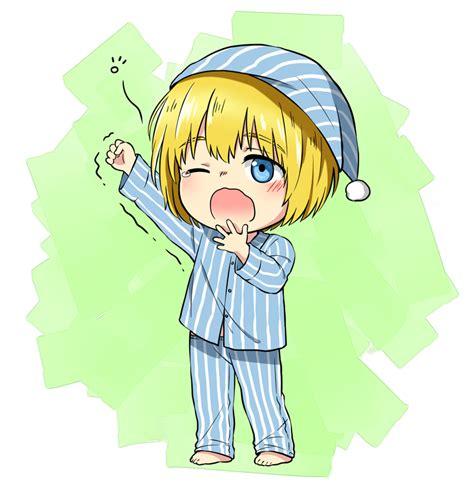Anime Yawn by Armin Arlert Attack On Titan Image 1709038 Zerochan