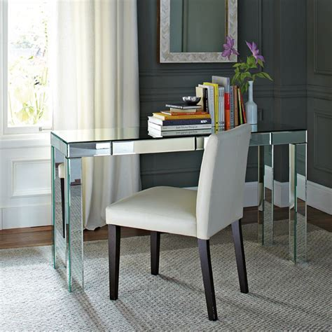 5 Stylish Writing Desks For A New School Year Small Mirrored Desk