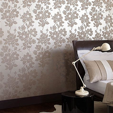 hoppen gold taupe wallpaper debenhams