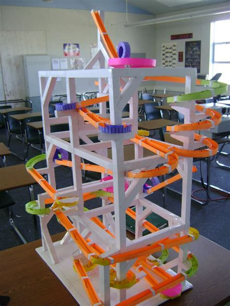 How To Make A Roller Coaster Out Of Paper - paper roller coasters gallery circuito canicas