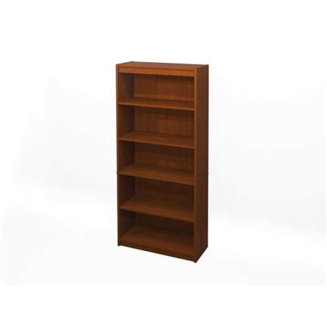 bestar 6 ft bookcase 65715 76 cognac cherry future