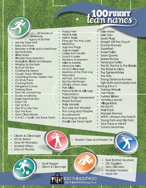 running 100 ideas that work in a small church books 25 best ideas about running team names on