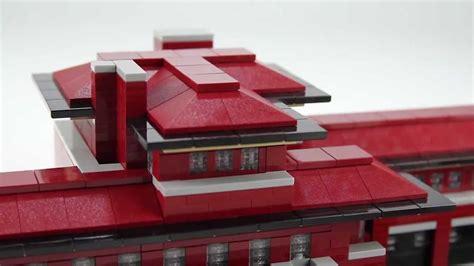 lego robie house lego architecture robie house youtube