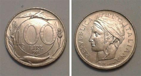 100 lire 1993 testa piccola valore moneta 100 lire monete di valore