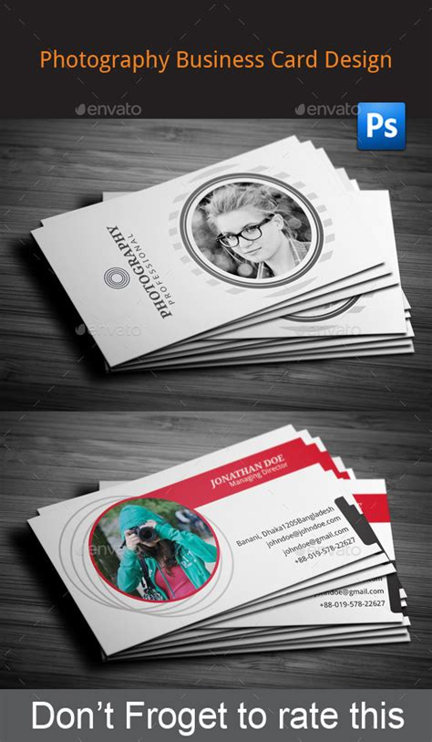 graphicriver wedding photography business card template print template graphicriver photography business card