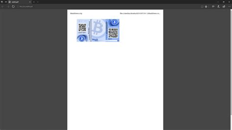 bitcoin tutorial pdf tutorial how to create a safe bitcoin paper wallet for