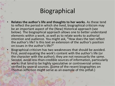biography critique exle criticism and its appoaches by muhammad sabry