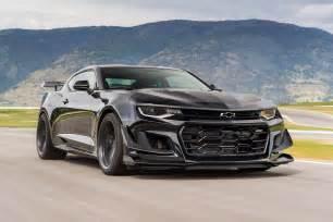 2018 chevy camaro zl1 2018 chevrolet camaro zl1 1le test review motor trend