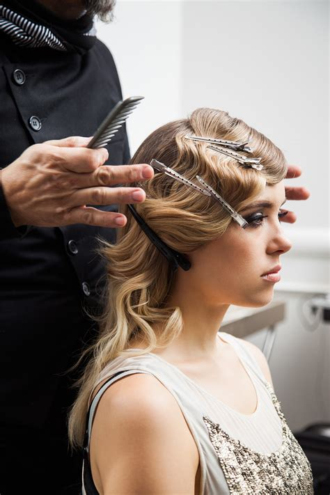 diy perfect bob step three anyone can diy these glamorous gatsby
