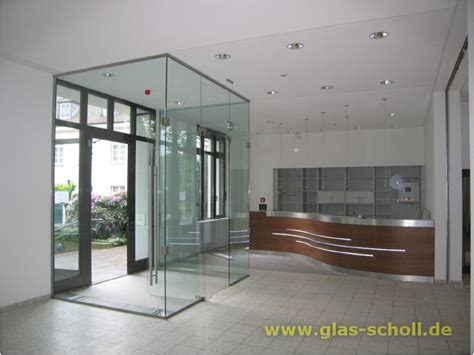 windfang glas innen gro 223 e arcos windfang ganzglas anlage fertig links