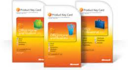 using your office 2010 product key card