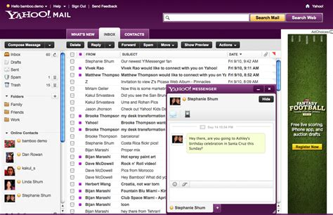 How To Search Email In Yahoo Mail Yahoo Apresenta Novo Yahoo Mail Beta E Anuncia Outras