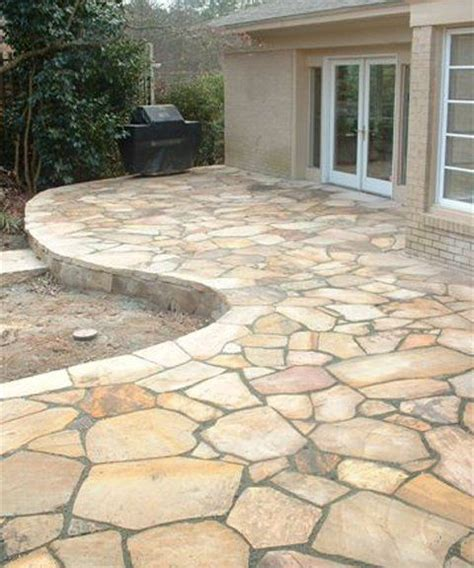 Images Of Flagstone Patios - 286 best images about patio ideas on