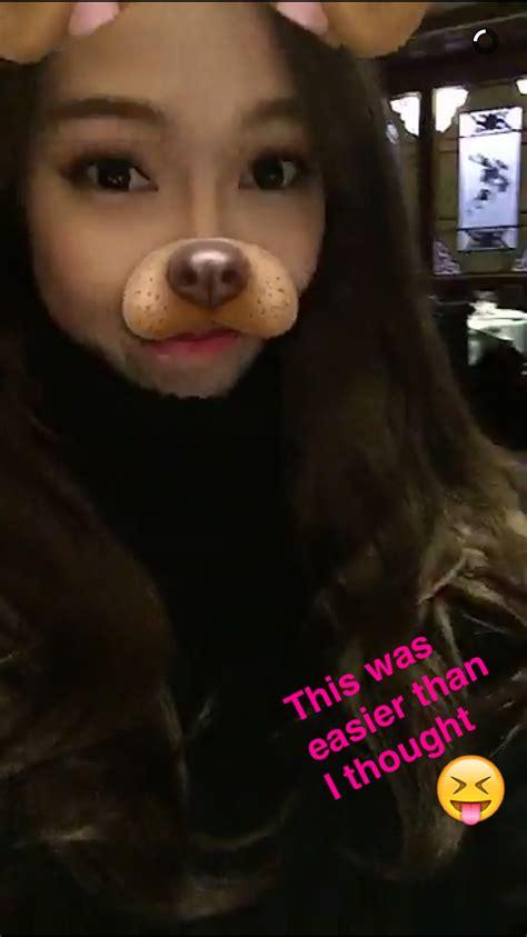 filter captions joins snapchat soompi