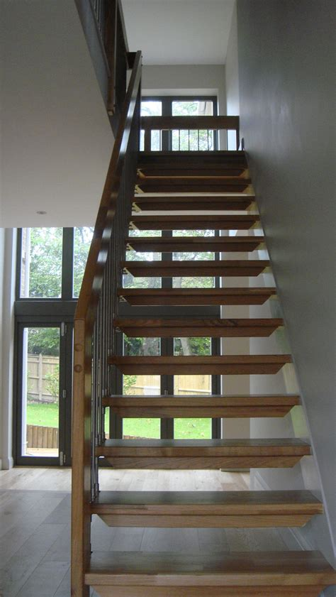 Open Staircase Ideas Open Staircase Design East Sussextimber Stair Systems