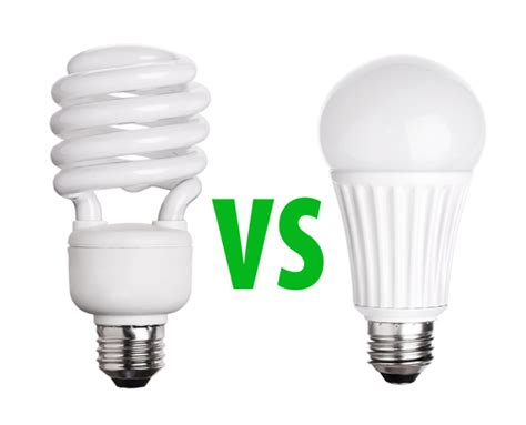 Led Vs Light Bulb Cfl Vs Led Lights Eric M Krise Electrical Contractor Llc Residential Commercial