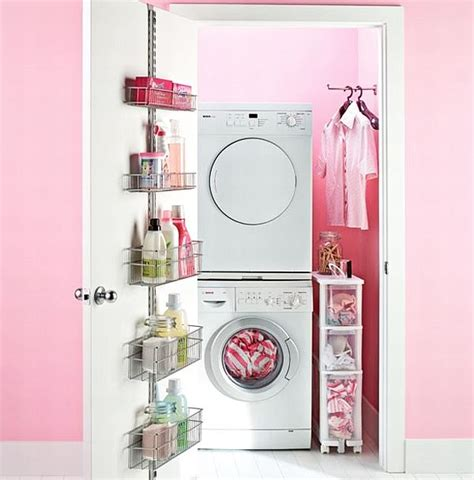 30 Coolest Laundry Room Design Ideas For Today S Modern Homes Pink Laundry