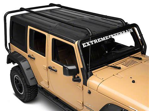 rugged ridge roof rack rugged ridge wrangler sherpa roof rack 11703 02 07 17 wrangler jk 4 door free shipping