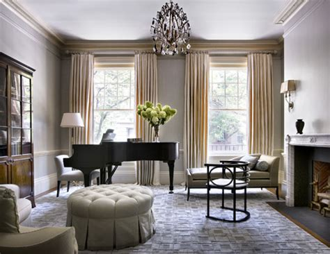 formal living room with grand piano home
