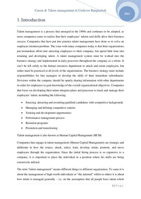 email format unilever career talent management in unilever bangladesh ltd