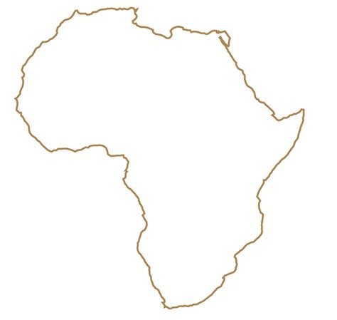 36 best africa map outline images on best photos of black outline map of africa blank africa
