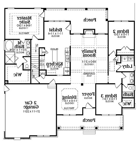 One Floor House Plans With Basement Duplex House Plans Two Unit Home Built As A Single Family