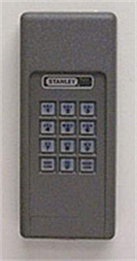 garage door keypad programming help