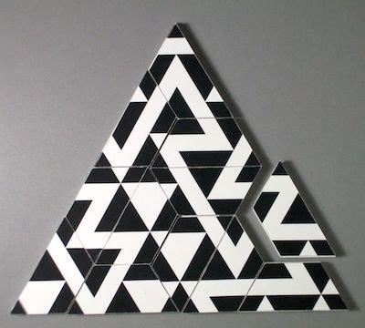 triangle matchstick pattern triamond match triangles patterns deco pinterest