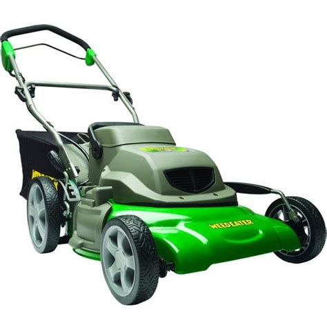 weed eater 961320058 20 inch 24 volt 3 n 1 cordless electric lawn mower appliances for home