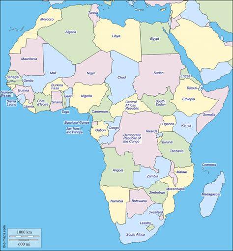 d maps africa 193 frica mapa gratuito mapa mudo gratuito mapa en blanco