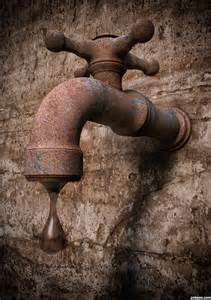 Water Faucet Drawing Rusty Dripping Tap Picture By Ory For Faucet Or Tap 3d