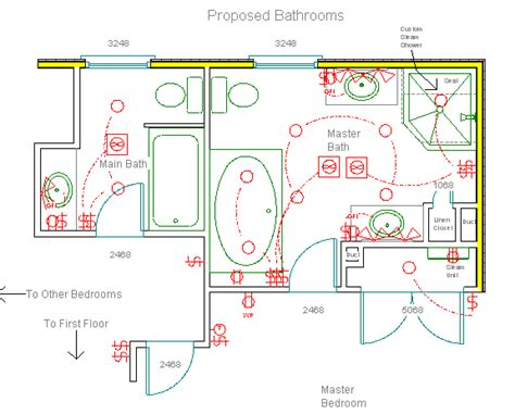 bathroom construction plans chappaqua ny master bathroom floor plan