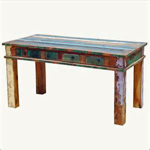 Reclaimed wood dining tables as your best dining table