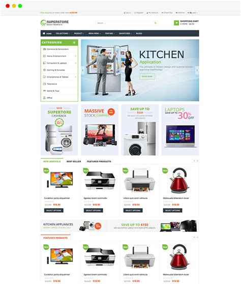 Best Free Shopify Templates And Premium Responsive Shopify Themes In 2015 Shopify Template